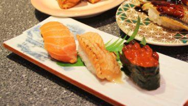 金谷でのお昼も夕食にもおすすめの回転寿司屋「船主総本店」