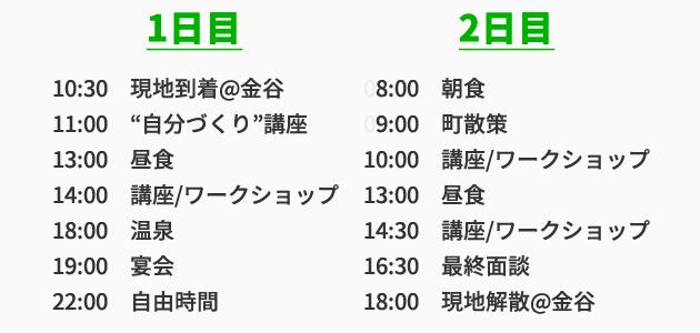 shukatsu-camp-timeline